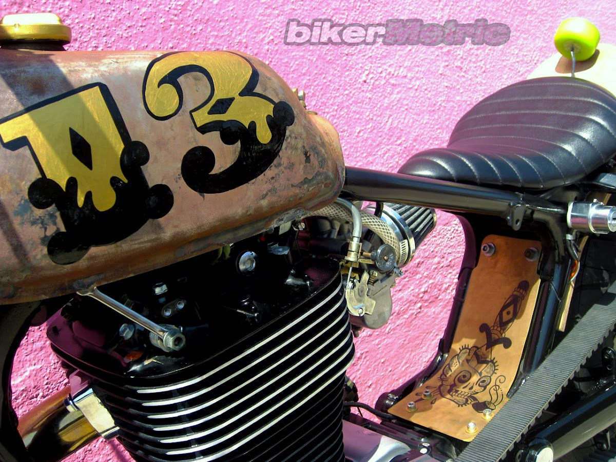 suzuki s40 savage brat bobber | machine-13