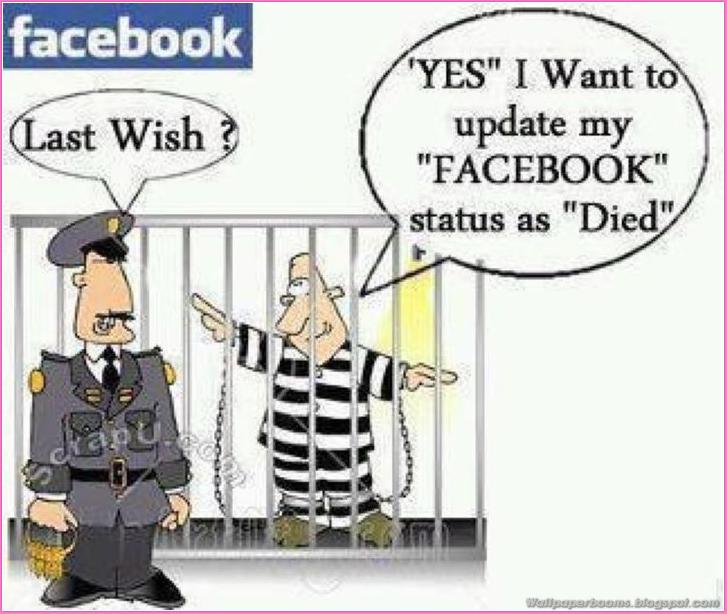 Facebook Wish Funny Wallpaper
