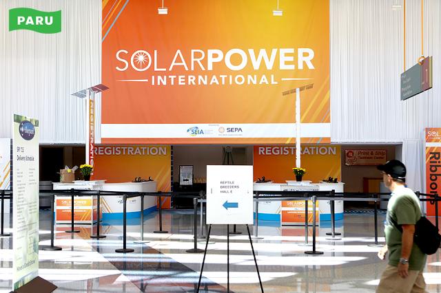 [PARU Solar Tracker] Solar Power International 02