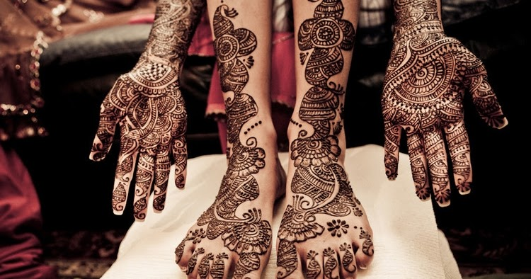 Journal de modele d 39 h nn henna pied et main - Modele de henna ...