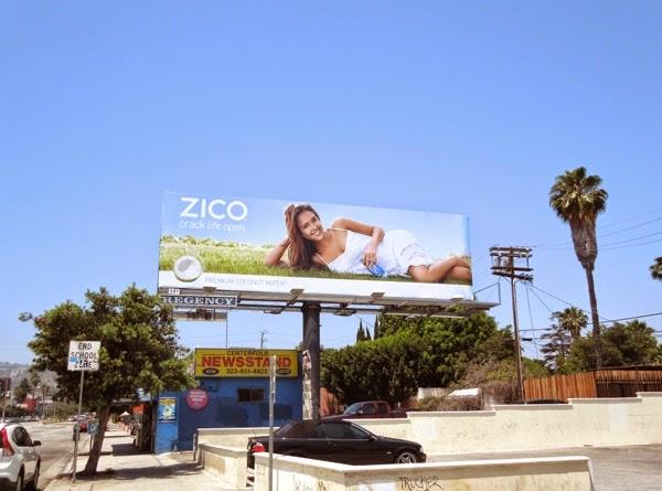 Jessica Alba Zico Crack life open billboard