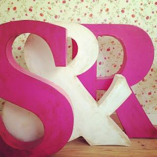 Otro mundo pl stico letras decorativas de papel mach - La factoria plastica ...