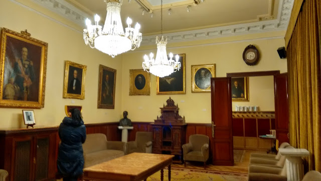 Real Academia Nacional de Medicina. Salón amarillo