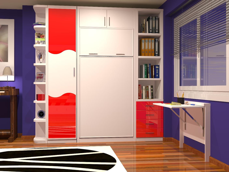 Muebles juveniles dormitorios infantiles y habitaciones for Camas en alto juveniles