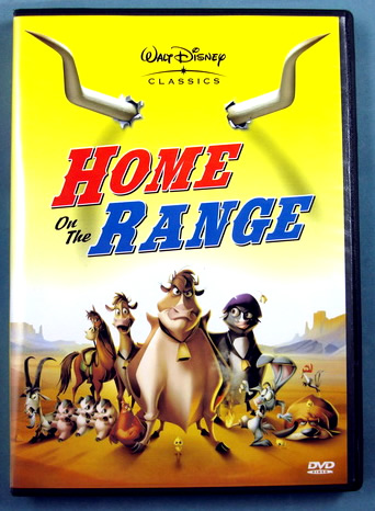 DVD cover Home on the Range 2004 animatedfilmreviews.blogspot.com