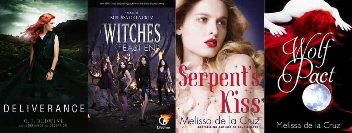 melissa de la cruz books witches of east end