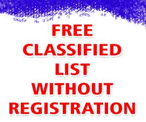 classified list Without Registration
