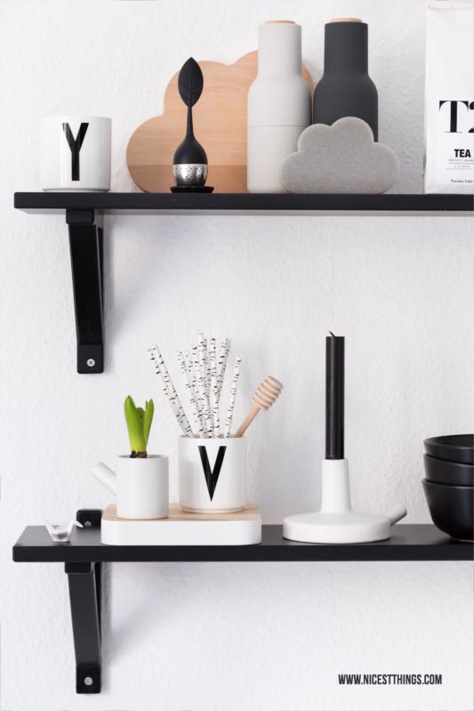 Kitchen Shelf with Catherine Lovatt Ceramics