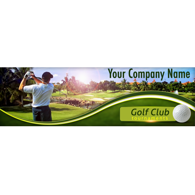 Golf Website Header preview