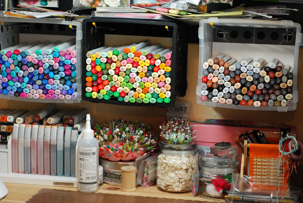 Color me copic copic storage for Craft plastic sheets walmart