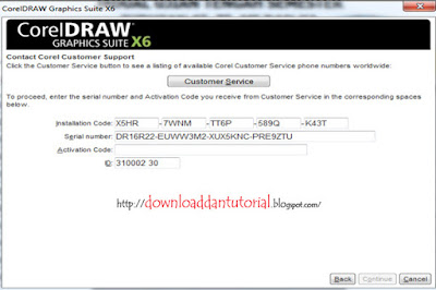 Install CorelDraw X6 Full Version