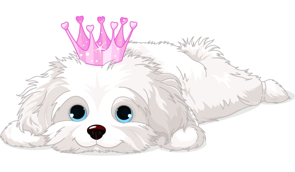 Pink Crown Puppy