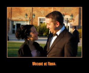 Vincent mon 2° fils et Elena son épouse