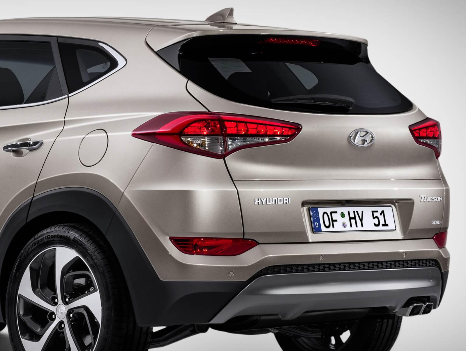 Novo Hyundai Tucson 2016 - lanternas