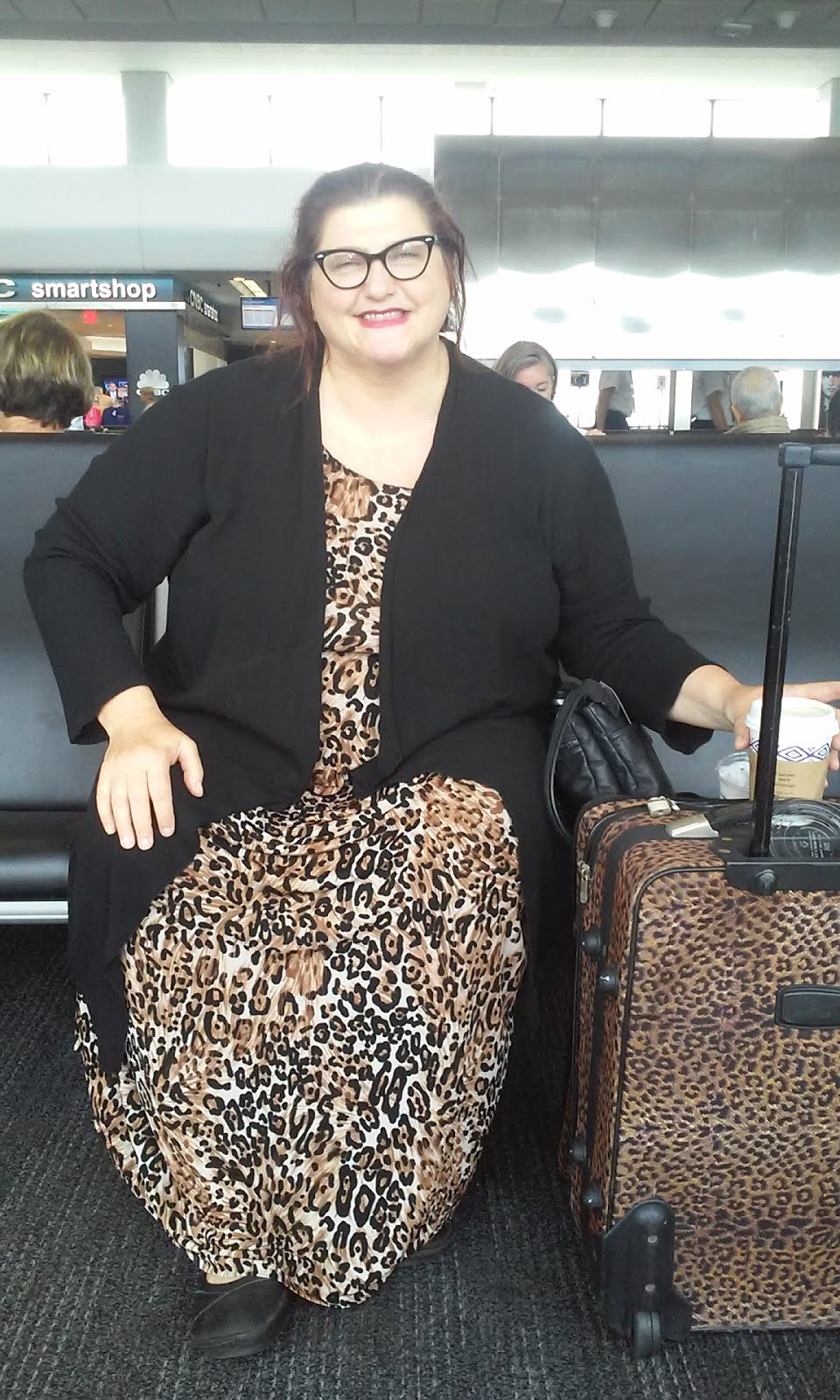 5/28/15 ~ Photo taken at SFO airport on the day before my VSG surgery.