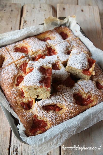 ricetta torta al farro e mele cotogne