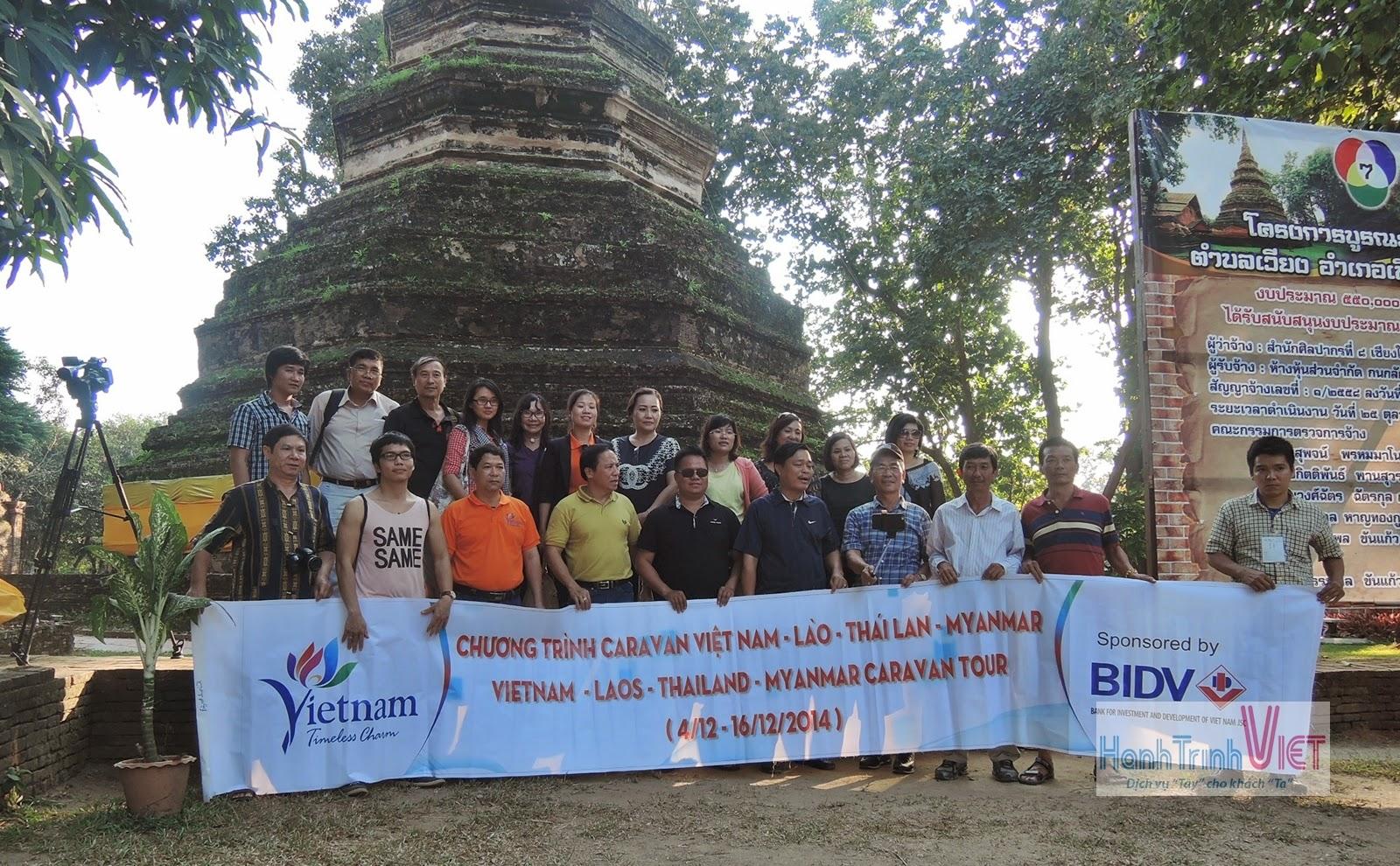 Khảo sát tour Caravan Vietnam - Lao - Thai - Myanmar 2014