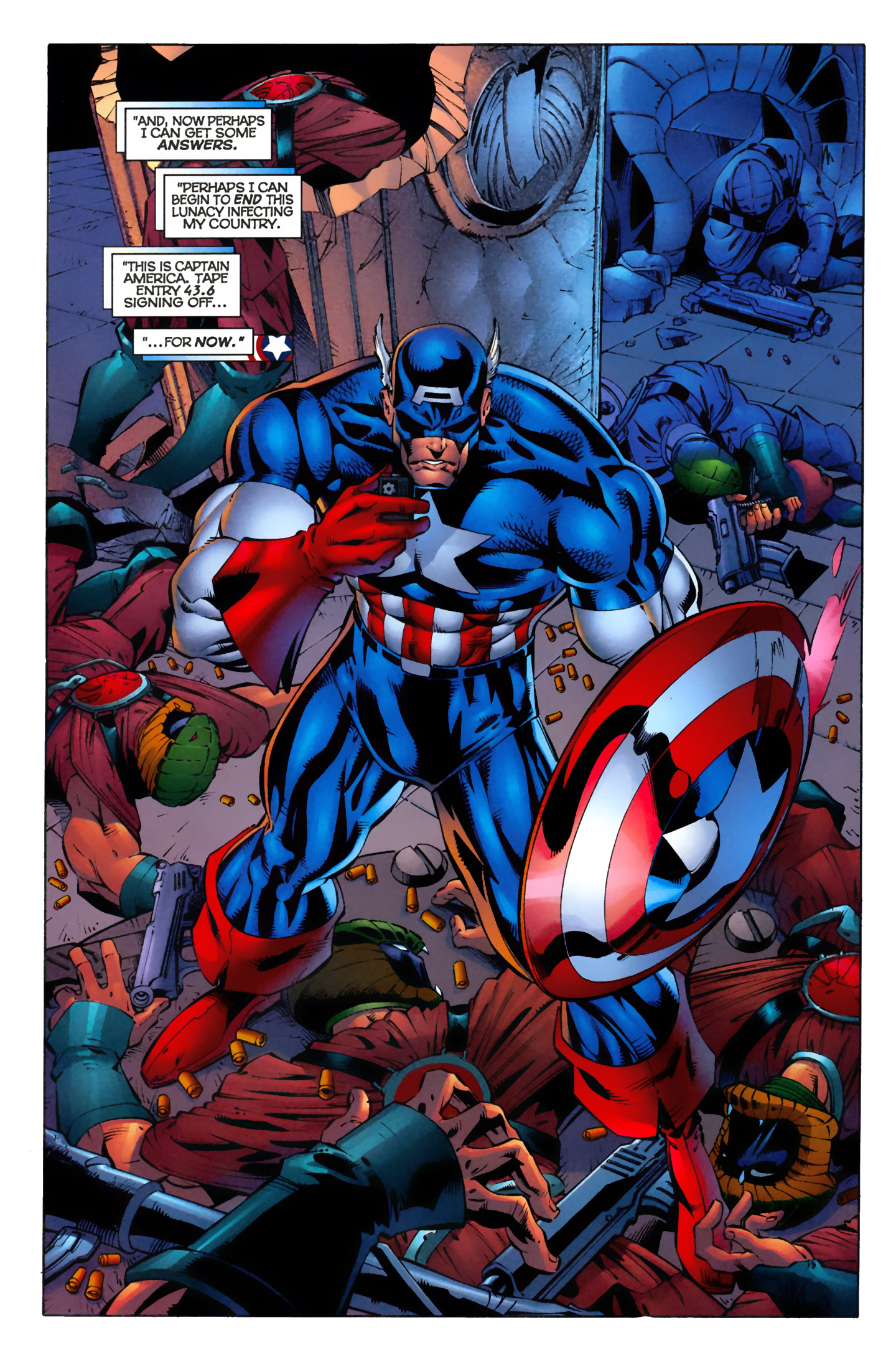 Captain America (1996) Issue #9 #9 - English 6