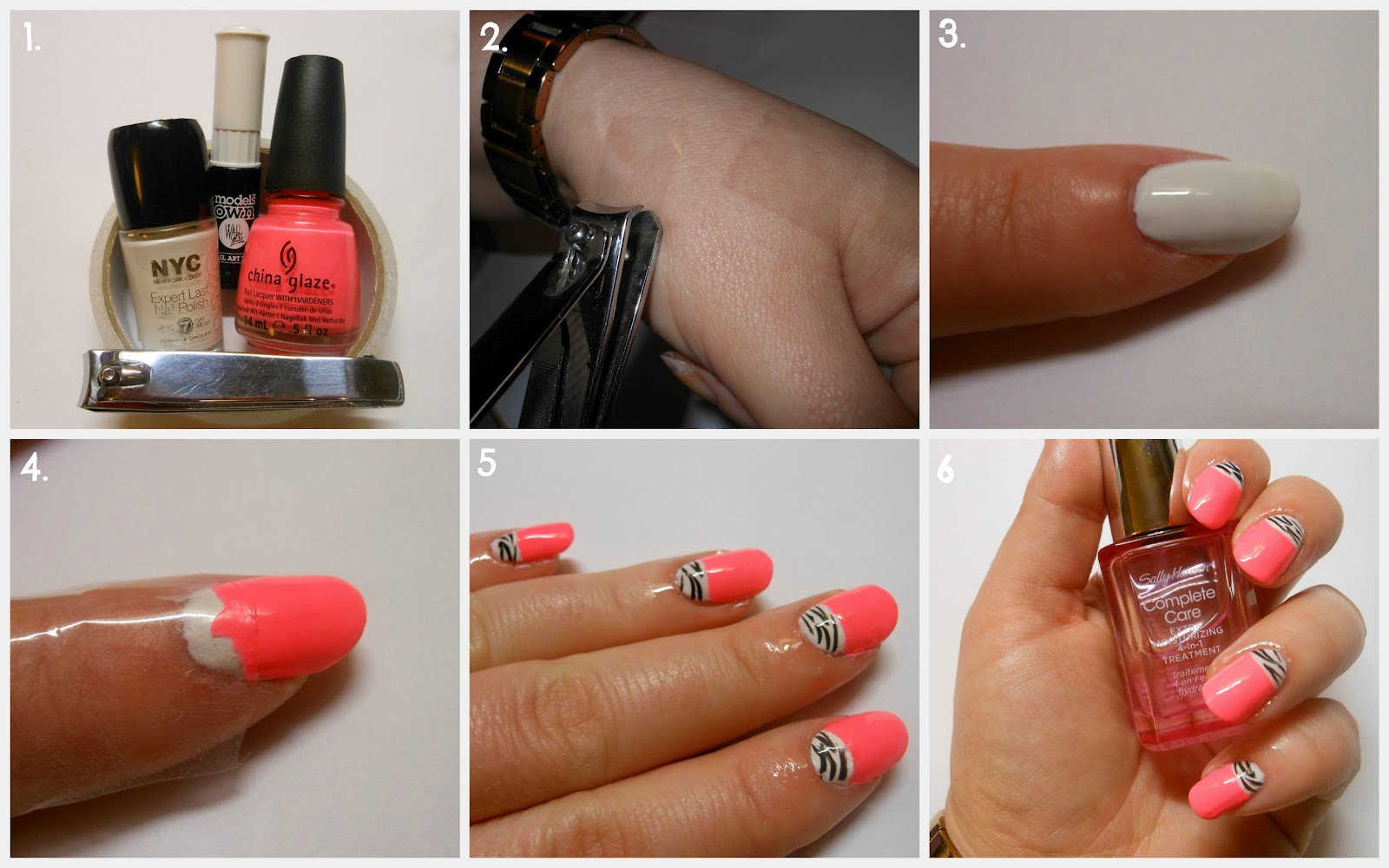 CherrySue, Doin\' the Do: Easy Half Moon Mani - Using Clippers and Tape!