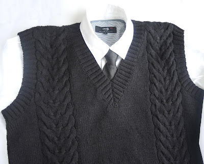 knitting.jpg, жилет вязаный спицами, для школы мальчикам, форма, жилетка, вязанная, связать жилет, как связать воротник, vest, waistcoat, pullover, knitting, crochet, binding, crocheting