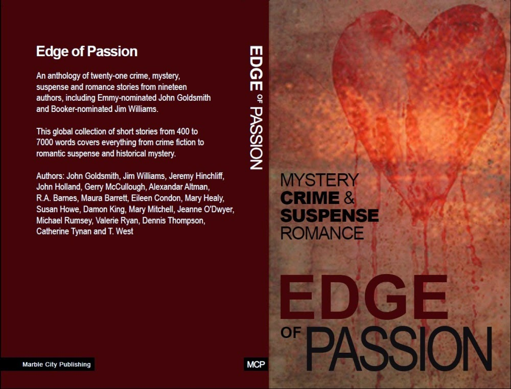 cover for Edge of Passion anthology paperback edition