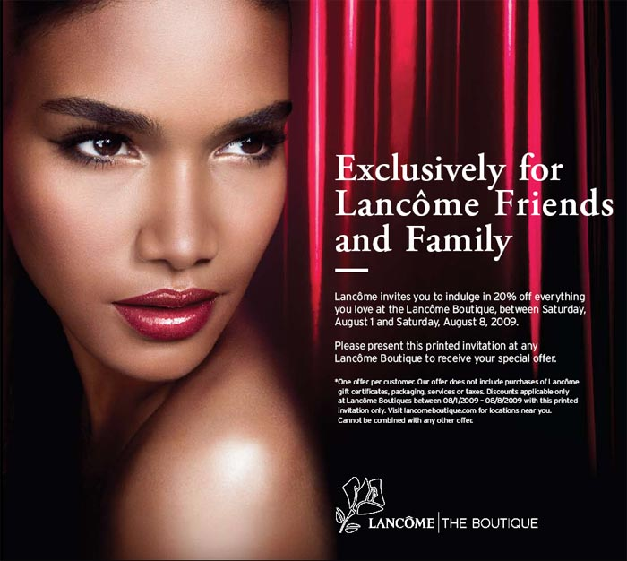 For more than 75 years, Lancôme Paris has created some of the finest beauty products in the world, such as Trésor Eau de Parfum, Juicy Tubes, Bi-Facil Eye Makeup Remover, and Définicils mascara.
