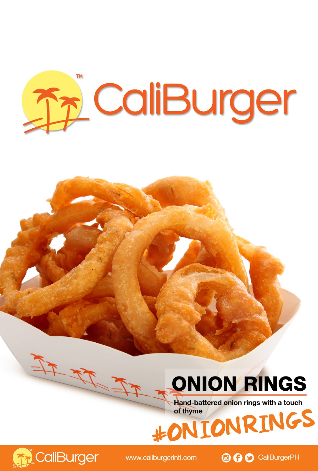 CaliBurger Onion Rings