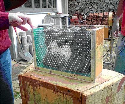 El hormigon concreto translucido for Hormigon traslucido
