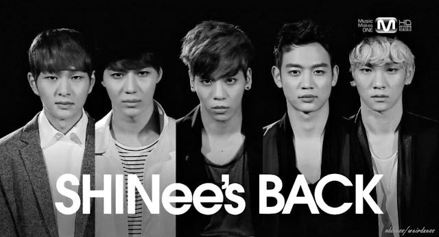 SHINee's M! Countdown comeback 130221
