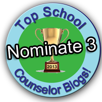 Nominate up to 3 top school counselor bloggers!