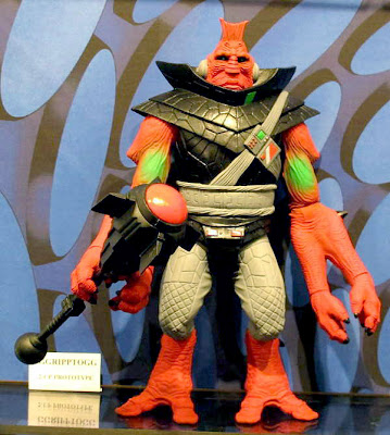 The Four Horsemen Studios 2013 Toy Fair Display - Power Lords - Ggripptogg