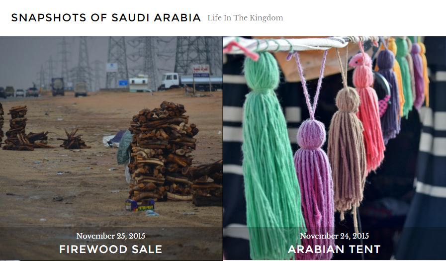 Kiwi's Snapshots of Saudi