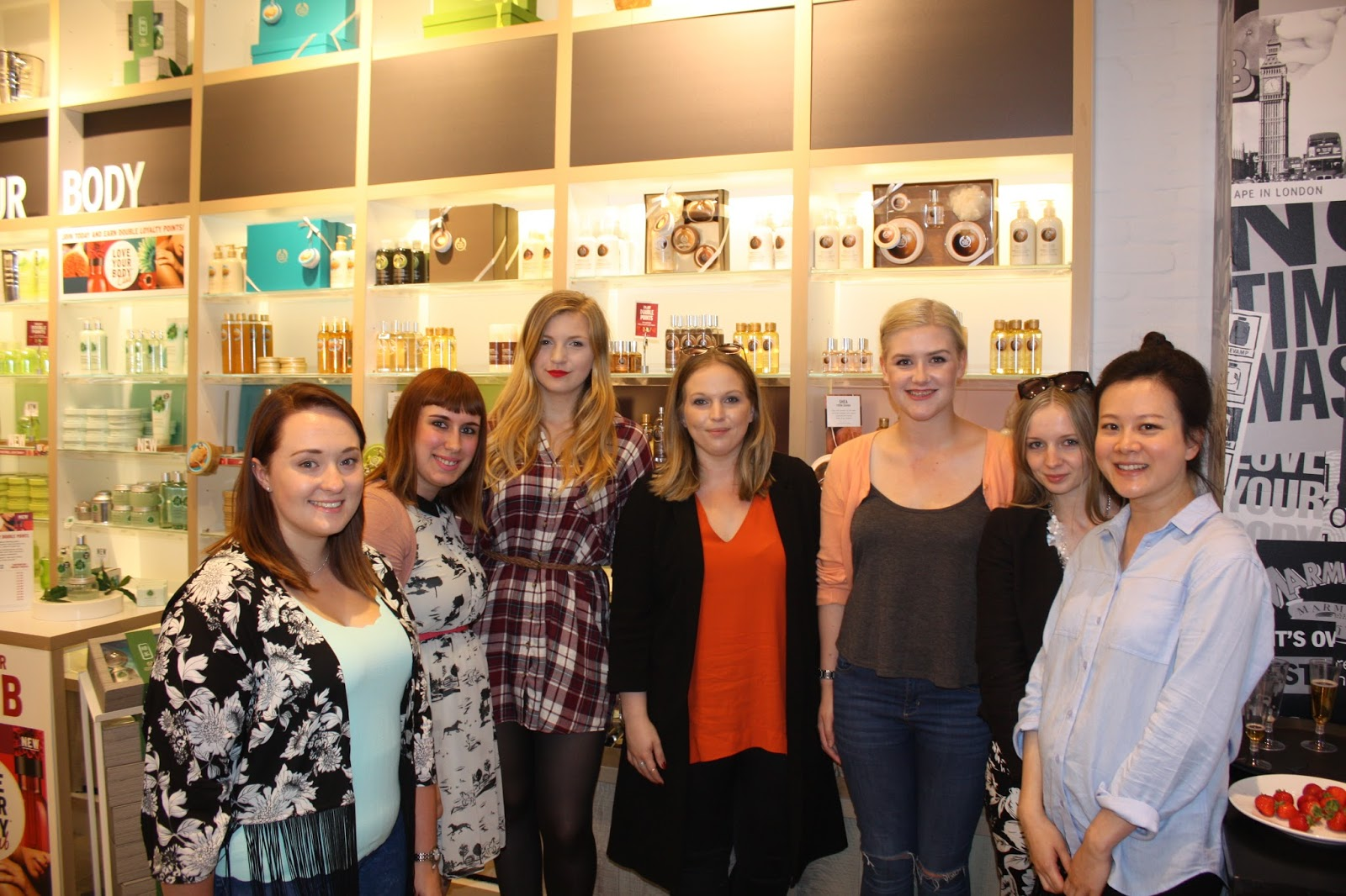 The Body Shop Southampton Spa Of The World Event Bloggers