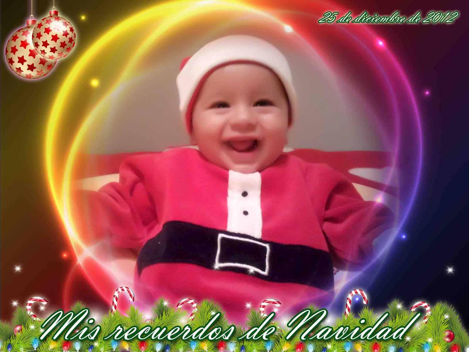 tus recuerdos de Navidad - Marcos en psd y png para descargar gratis