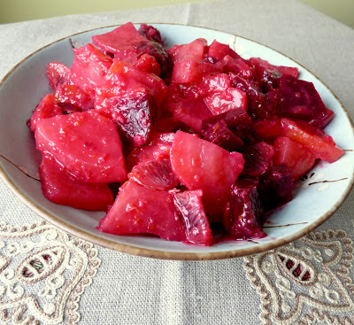 Ginger-Orange Beets