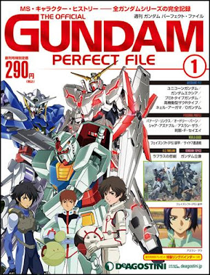 Weekly Gundam Perfect File Revista Magazine DeAgostini