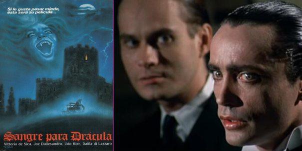 Sangre para Drácula, película
