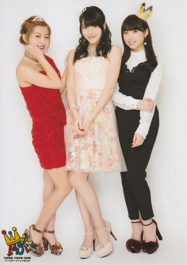 赤いドレス着用の萩原舞