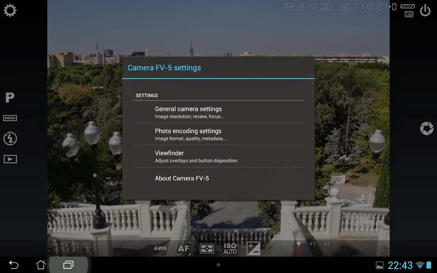 Download APLIKASI CAMERA FV-5 LITE for Android via Google Play Store