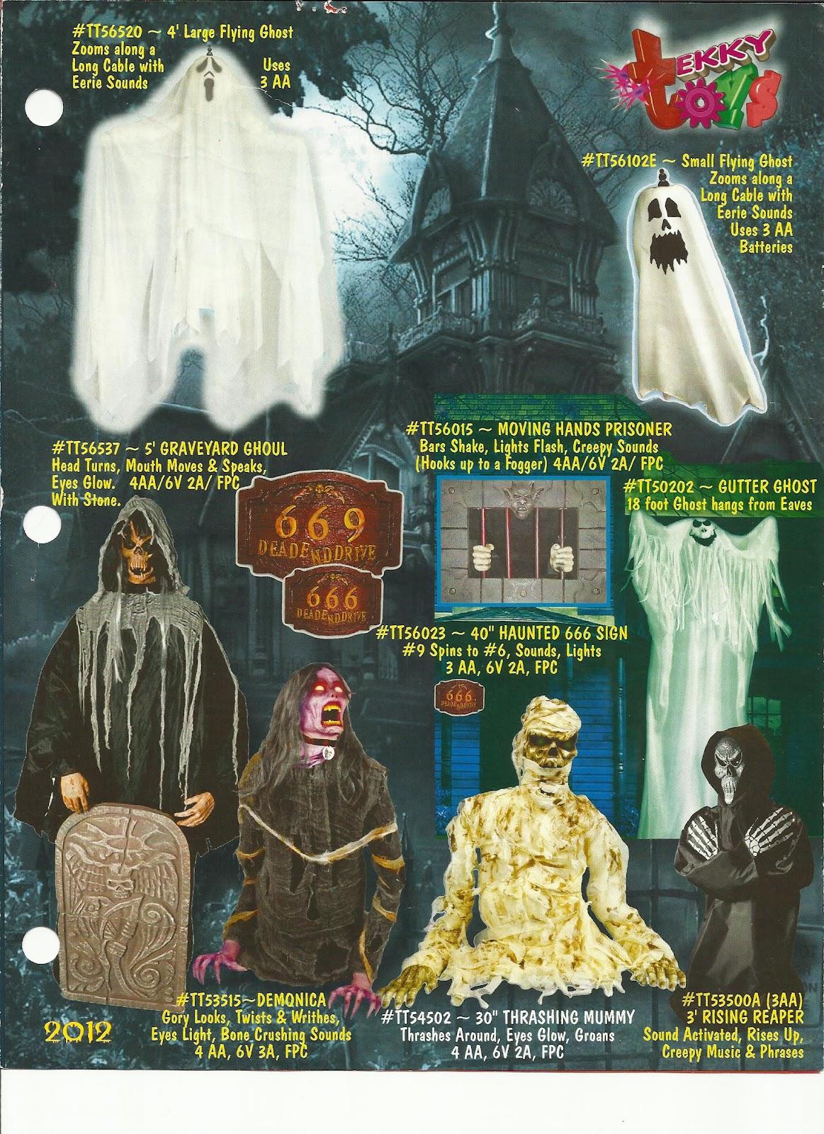 tekky toys halloween catalog 2012 - Halloween Catalog