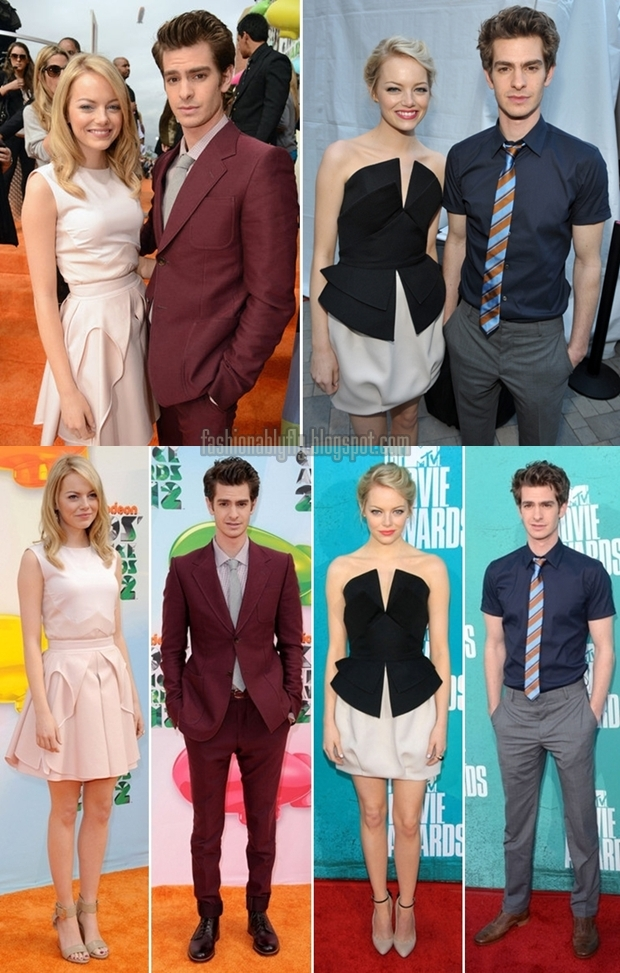 Emma Stone & Andrew Garfield: Stylish Couple - Fashionably Fly