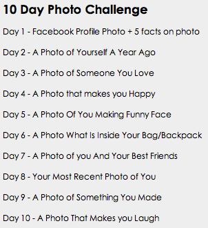 10 Day Photo Challenge