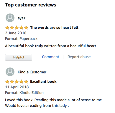 LATEST REVIEWS FROM 'AN ANGEL'S FEATHER'