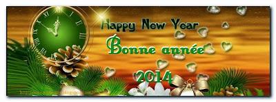 Modèles de sms et message pour le nouvel an 2014