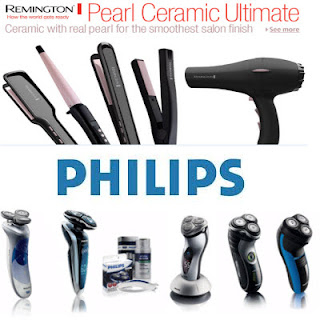 Jabong : Buy Philips, Braun & Remington Personal Care Appliances upto 50% off + 1% off