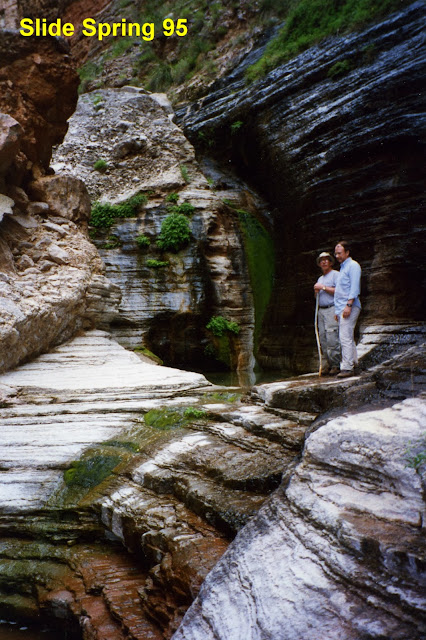 7days6nights best stories selected stories from 100 days below the rim of the grand canyon - Crystal pools waterfall ...