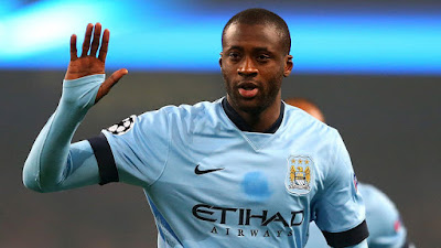 Yaya Toure, Man City midfielder