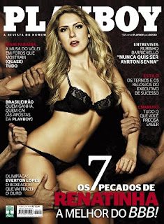 Revista Playboy – Renata do BBB12 – Maio 2012