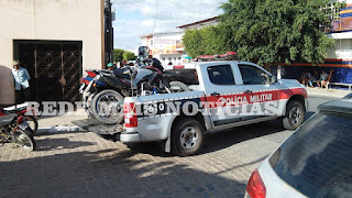 Operação da Polícia Militar apreende motos no Centro de Nova Floresta