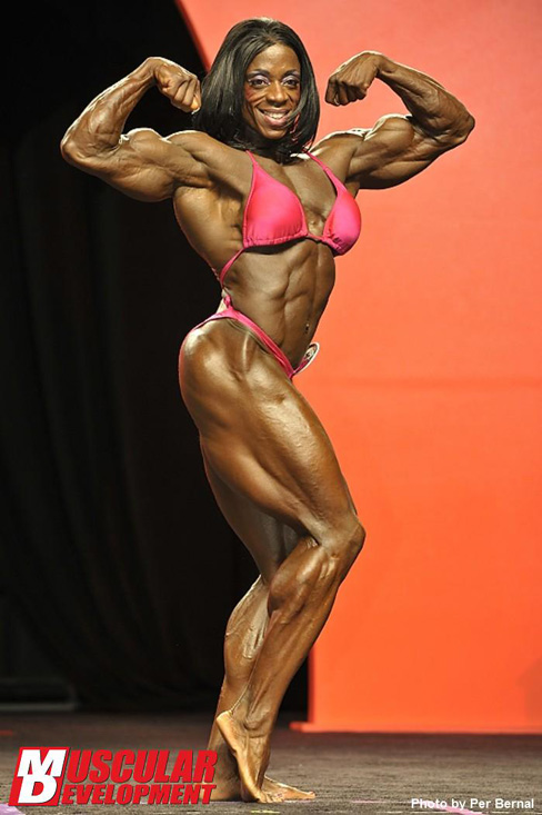 Iris Kyle Female Muscle Bodybuilding Blog Fitness Muscular Development